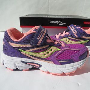 Saucony Girls Sneakers 11 M NEW SY-G Cohesion 9 AC
